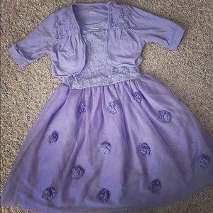 Children's Place Dress 6X/7 & Jacket size 7/8